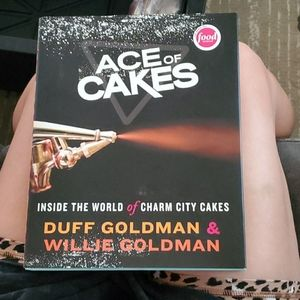 Ace of Cakes signed book